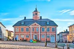 Porvoo finnland Das alte Rathaus Lizenzfreie Stockbilder