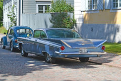 Porvoo, Finnland - 25. Juli 2015: Buick Electra, 1959 Lizenzfreie Stockfotografie