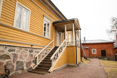 Porvoo - house of Runeberg Royalty Free Stock Photography