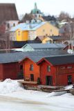 Porvoo Houses Stock Image