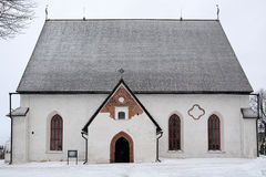 Porvoo katedra, Finlandia obrazy royalty free