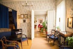 Porvoo - maison de Runeberg Image stock