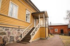 Porvoo - maison de Runeberg Photographie stock libre de droits