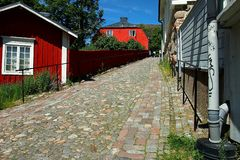Porvoo Old Town Stock Photography