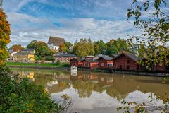 Porvoo sightseeing Stock Images
