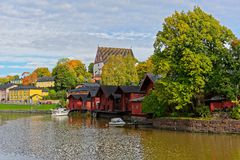 Porvoo sightseeing Royalty Free Stock Images