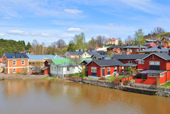 Porvoo in spring Stock Images