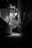 Pory nocnej miasta scena zdjęcie royalty free
