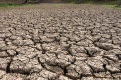 pory suchej krekingowa ziemia Fotografia Royalty Free
