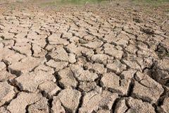 pory suchej krekingowa ziemia Fotografia Stock