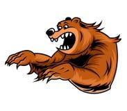 Poryka niedźwiedź Ilustracja Wektor