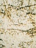 Porysowana i ośniedziała makro- tekstura - metal - Zdjęcie Royalty Free