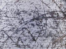 Porysowana makro- tekstura - metal - obraz royalty free