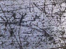Porysowana makro- tekstura - metal - Zdjęcia Stock