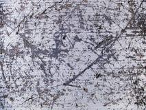 Porysowana makro- tekstura - metal - Obraz Stock
