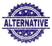 Porysowana Textured alternatywa znaczka foka royalty ilustracja