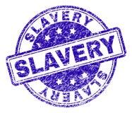 Porysowana Textured niewolnictwo znaczka foka ilustracji