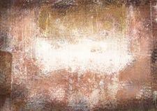 Porysowanego rocznika grunge abstrakcjonistyczny temat z czernią scuffed krawędzie Zdjęcia Stock