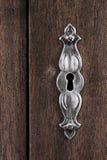 Porysowany keyhole zdjęcie royalty free