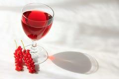 porzeczkowy wino zdjęcia stock