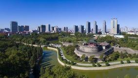 Porzellan Congtai-Parkhandans Hebei stockbild