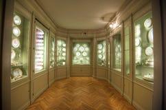 Porzellanraum des Rosenborg-Schlosses Lizenzfreies Stockfoto