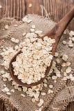 Porzione di farina d'avena Immagini Stock Libere da Diritti