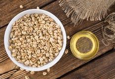 Porzione di grano soffiato Fotografia Stock Libera da Diritti