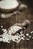 Porzione di riso soffiato Fotografie Stock Libere da Diritti