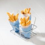 Porzioni di fritture Fotografia Stock