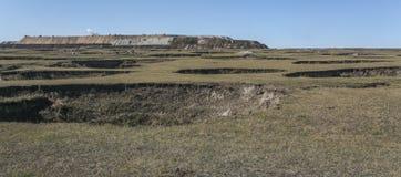 Porzucać małe kopalnia węgla zdjęcie royalty free