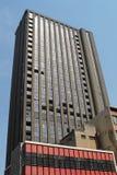 Porzucony budynek mieszkaniowy w Johannesburg obraz stock