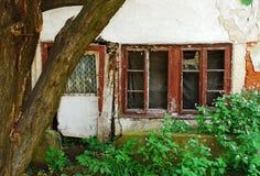 Porzucony budynek w Travnik Zdjęcie Stock