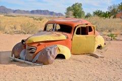 porzucony samochód Zdjęcie Royalty Free