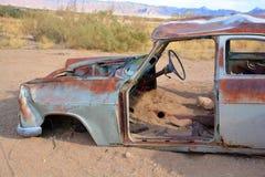 porzucony samochód Zdjęcia Stock