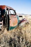 porzucony samochód wiejski Wyoming zdjęcia royalty free