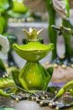 posążek princess żaba Baśniowy charakter-- princess żaba zdjęcia stock