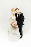 Posążek w postaci poślubiającej pary Zdjęcie Royalty Free