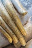 posąg buddy ręce Obrazy Royalty Free