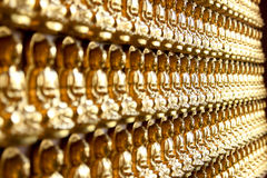 posąg buddy złota Fotografia Royalty Free