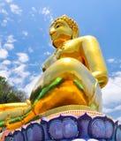 posąg buddy złota Fotografia Stock