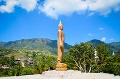posąg buddy złota zdjęcia royalty free