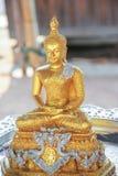 posąg buddy złota Obraz Stock