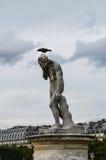 posąg paryża zdjęcia royalty free