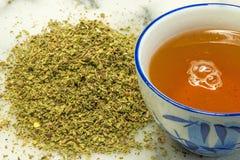 Posłonek dla herbaty zdjęcia royalty free