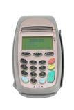 pos πιστωτικών μηχανών τερματικό Στοκ φωτογραφία με δικαίωμα ελεύθερης χρήσης