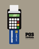 Pos design Royalty Free Stock Photography