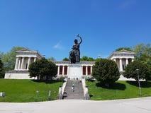 posąg bawarii Monachium Zdjęcia Stock