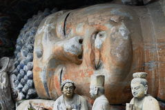 posąg buddy Obraz Royalty Free