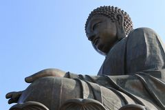 posąg buddy olbrzyma Obraz Royalty Free